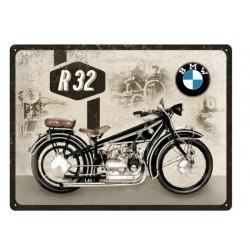 "PLACA GARAJE ""BMW R32"""