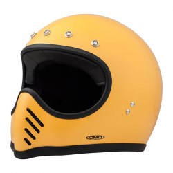 DMD FULL FACE HELMET SEVENTY FIVE YELLOW