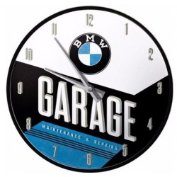 RELOJ DE PARED BMW GARAGE