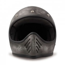 DMD FULL FACE HELMET SEVENTY FIVE GREY