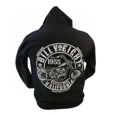SUDADERA CON CAPUCHA BILLY EIGHT SINCE 1955