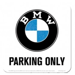 BMW PARKING ONLY COASTERS