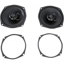 REPLACEMENT FRONT SPEAKERS FOR HARLEY DAVIDSON FLHT / FLHX 98-05