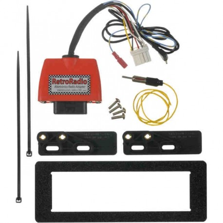 RETRO RADIO CD ADAPTER KIT FOR HARLEY DAVIDSON FLTR/FLHT/FLHTC 98-13