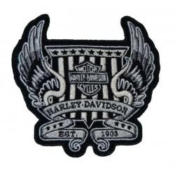 PATCH HARLEY DAVIDSON WINGS EST. 1903 11 x 10 CM.