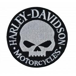 PATCH HARLEY DAVIDSON SKULL 9 CM.