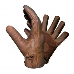 SPRING BROWN SKIN GLOVE