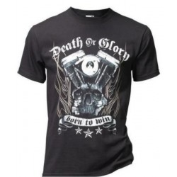 SHIRT BLACK DEATH OR GLORY (OUTLET)