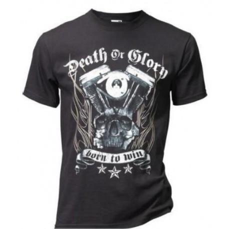 camiseta-death-or-glory-negra