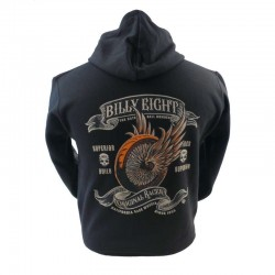 SUDADERA CON CAPUCHA BILLY EIGHT ORIGINAL RACER