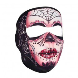 NEOPRENE SUGAR SKULL MASK