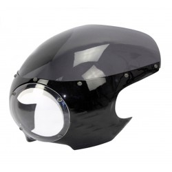 UNIVERSAL DOME CAFE RACER WITH LENS TRANSPARENT