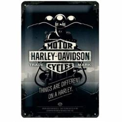 PLACA GARAJE HARLEY-DAVIDSON THINGS
