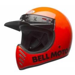 BELL MOTO 3 FLO ORANGE HELMET