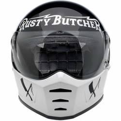 BILTWELL INTEGRAL HELMET SPLITTER RUSTY BUTCHER