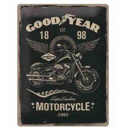 METAL SING GOODYEAR MOTORCYCLE