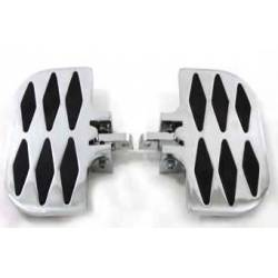 PLATFORMS FOR PASSENGER BILLET DIAMOND HARLEY DAVIDSON