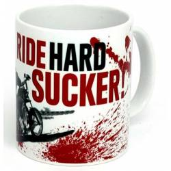 WCC RIDE HARD SUCKER MUG WHITE