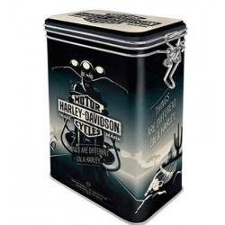 HARLEY DAVIDSON AROMA METAL BOX