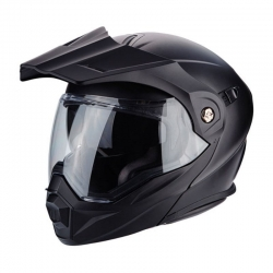 MODULAR HELMET SCORPION ADX-1 BLACK MATE