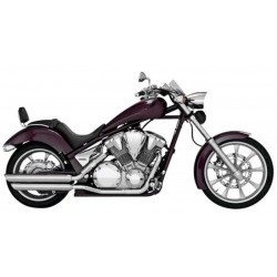 ESCAPE HONDA VTX1300 FURY VANCE & HINES TWIN SLASH SLIP-ON 09-UP
