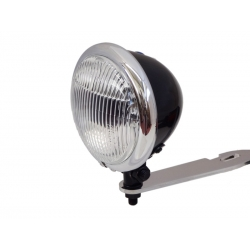 MINI DRIVE LIGHT BLACK AND CHROME