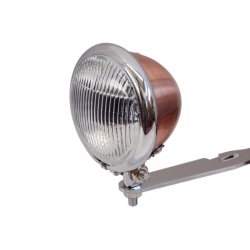 MINI DRIVE LIGHT COPPER CHROME HOOP