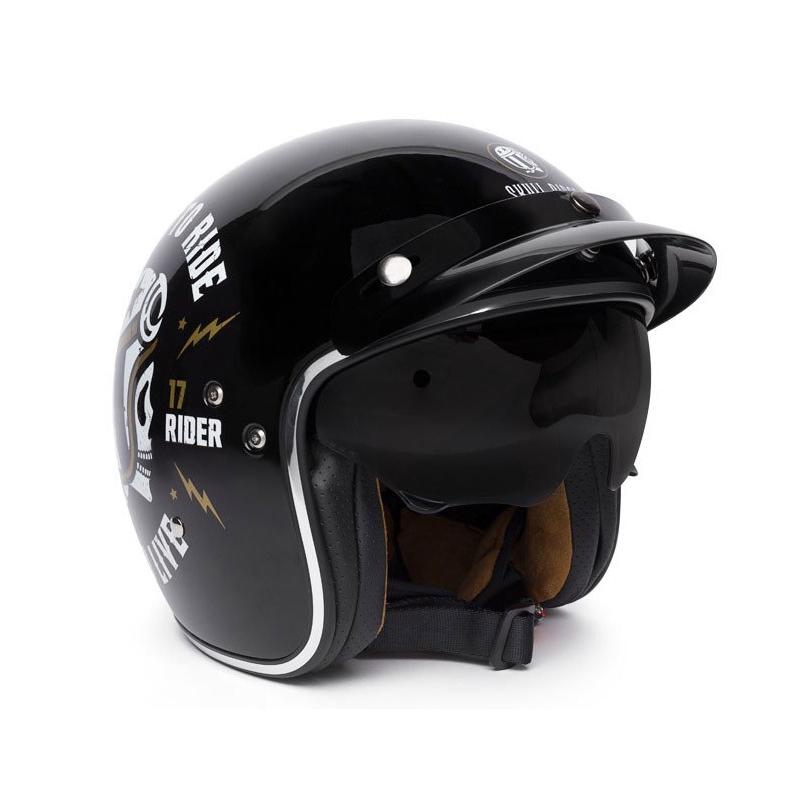 JetGafas De Skull Rider Pack Spaciobiker Casco Sol KclFT1J