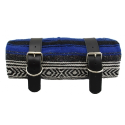 MEXICAN SERAPE ROLL-UP BLUE