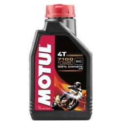 ENGINE OIL MOTUL 7100 SINTETICO 1 LITRO SAE 10W-60