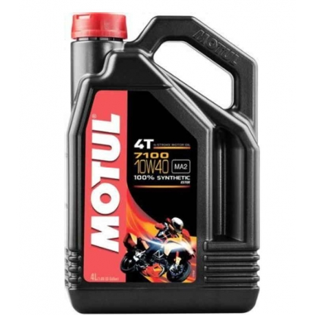 ENGINE OIL MOTUL 7100 SYNTHETIC 4 LITERS SAE 10W-40
