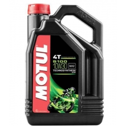 ENGINE OIL MOTUL 5100 4T 10W-30 4 LITERS