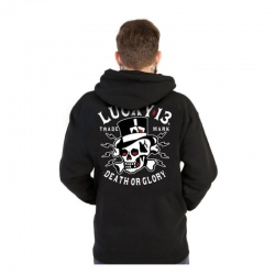 SUDADERA LUCKY 13 DEATH GLORY