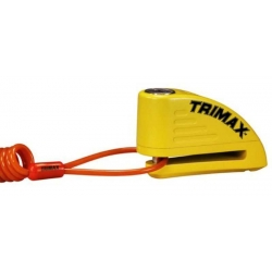 CANDADO DISCO CON ALARMA TRIMAX 7MM