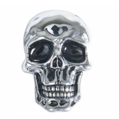 SELF-ADHESIVE CHROME SKULL