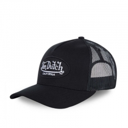 GORRA VON DUTCH OG BASEBALL NEGRA