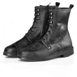 LEATHER BOOTS BY CITY TROTEN NEGRAS