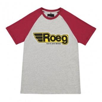 ROEG BURK GRAY / RED T-SHIRT