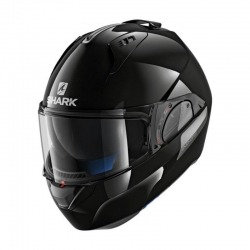 MODULAR HELMET SHARK EVO-ONE 2 BLACK BRIGHT