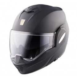 MODULAR HELMET SCORPION EXO-TECH BLACK MATE