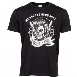 GASOLINE BANDIT GOOD GUYS BLACK T-SHIRT