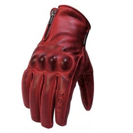 GUANTES MUJER TORC BEVERLY HILLS ROJO