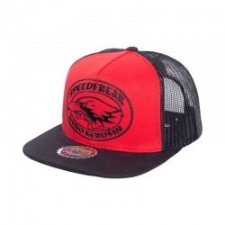 GORRA KING KEROSIN SPEEDFREAK ROJA/NEGRA