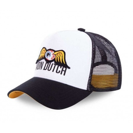 VON DUTCH EYES CAP CAP BLACK / WHITE