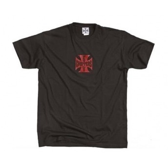 WEST COAST CHOPPERS IRON ORIGINAL BLACK T-SHIRT