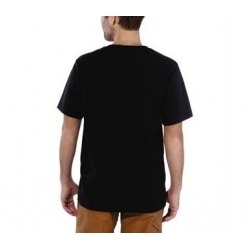 CARHARTT DETROIT BLACK T-SHIRT