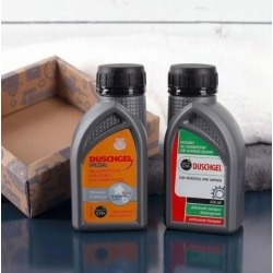 GEL AND SHAMPOO MOTOR OIL