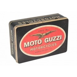 GUZZI MOTORCYCLE METAL BOX