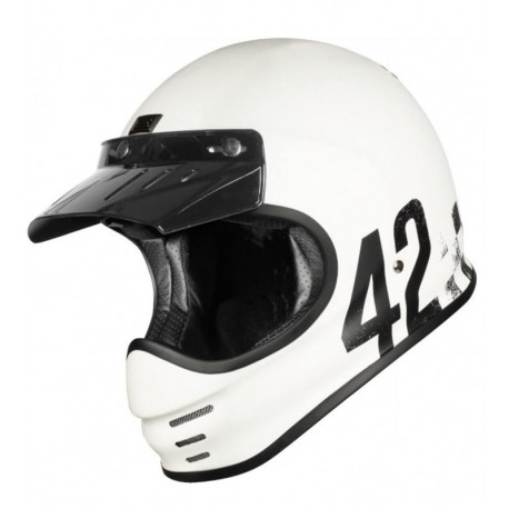 INTEGRAL HELMET ORIGINE VIRGO DANNY BLANCO