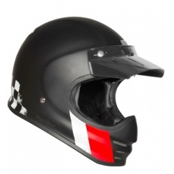 INTEGRAL HELMET ORIGINE VIRGO DANNY BLACK